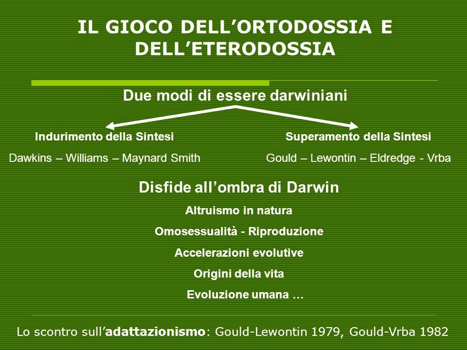 IL GIOCO DELL'ORTODOSSIA E DELL'ETERODOSSIA
