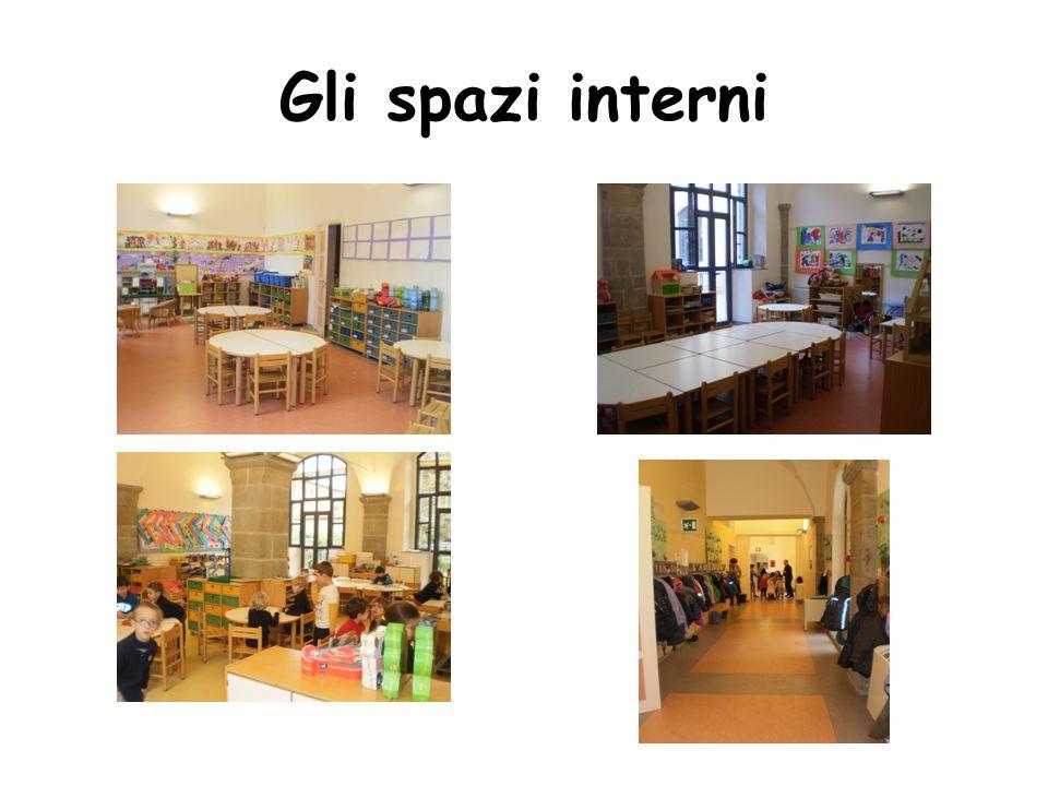 Gli spazi interni