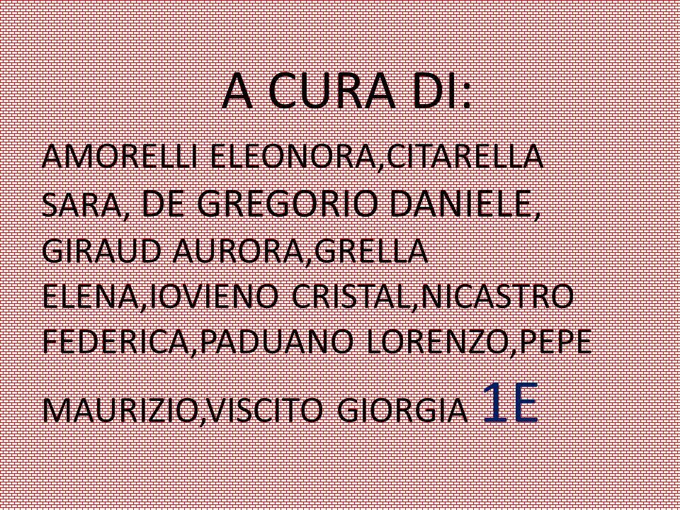 A CURA DI: