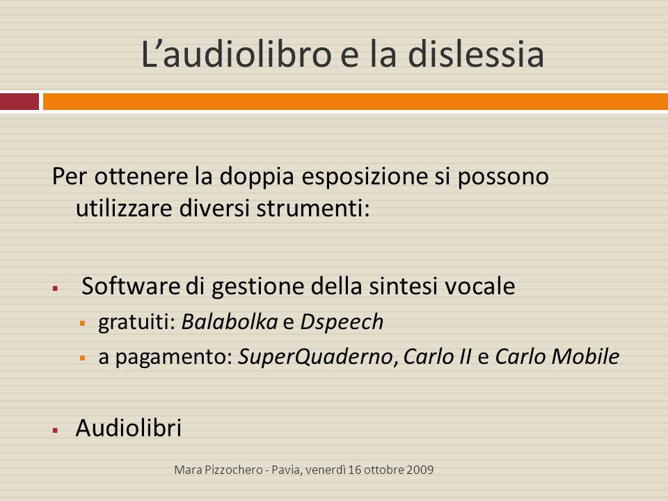 L'audiolibro e la dislessia