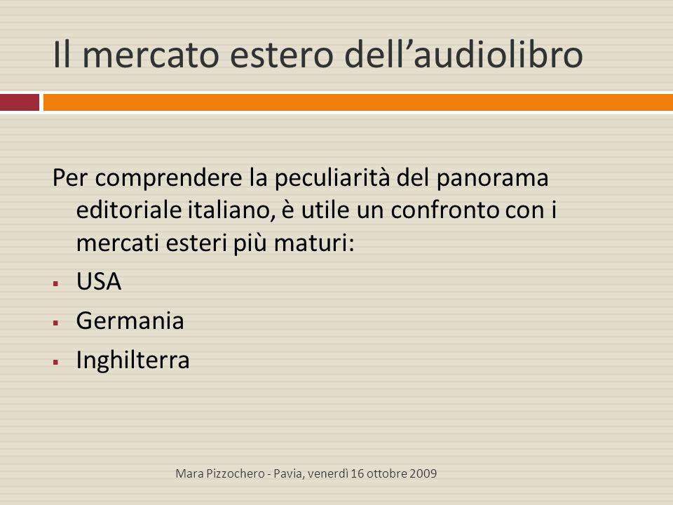 Il mercato estero dell'audiolibro