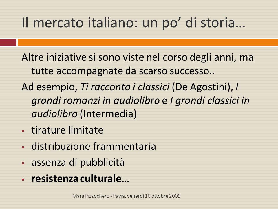 Il mercato italiano: un po' di storia…