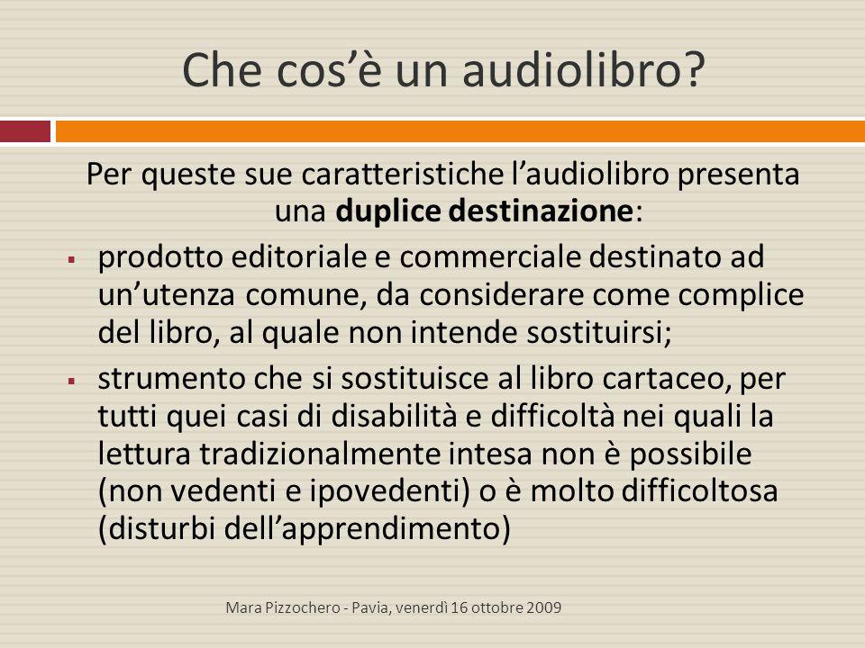 Che cos'è un audiolibro