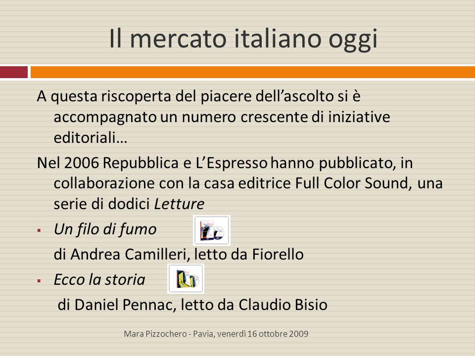 Il mercato italiano oggi