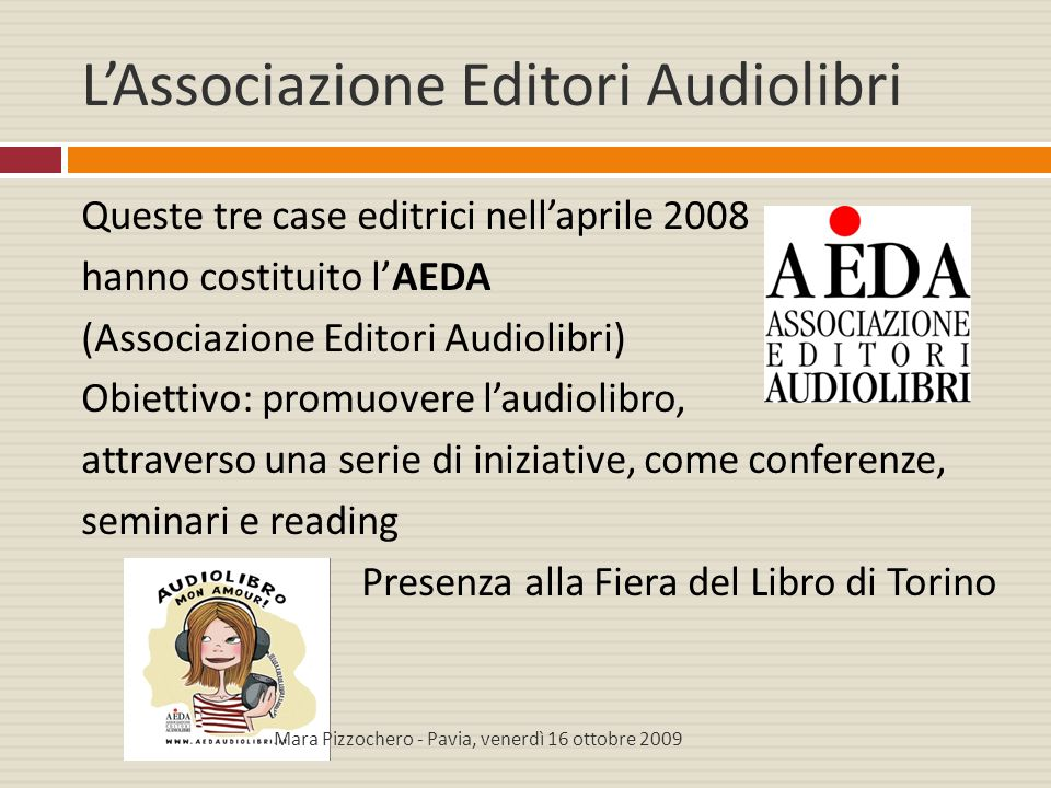 L'Associazione Editori Audiolibri