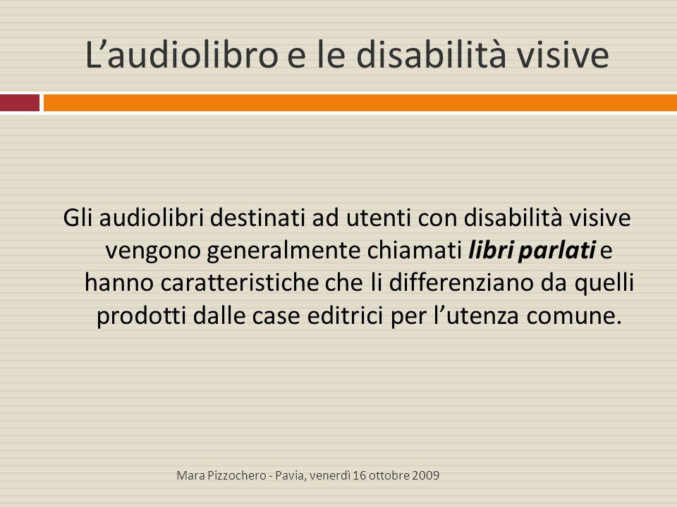 L'audiolibro e le disabilità visive