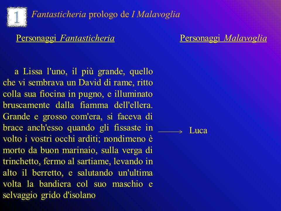 Fantasticheria prologo de I Malavoglia