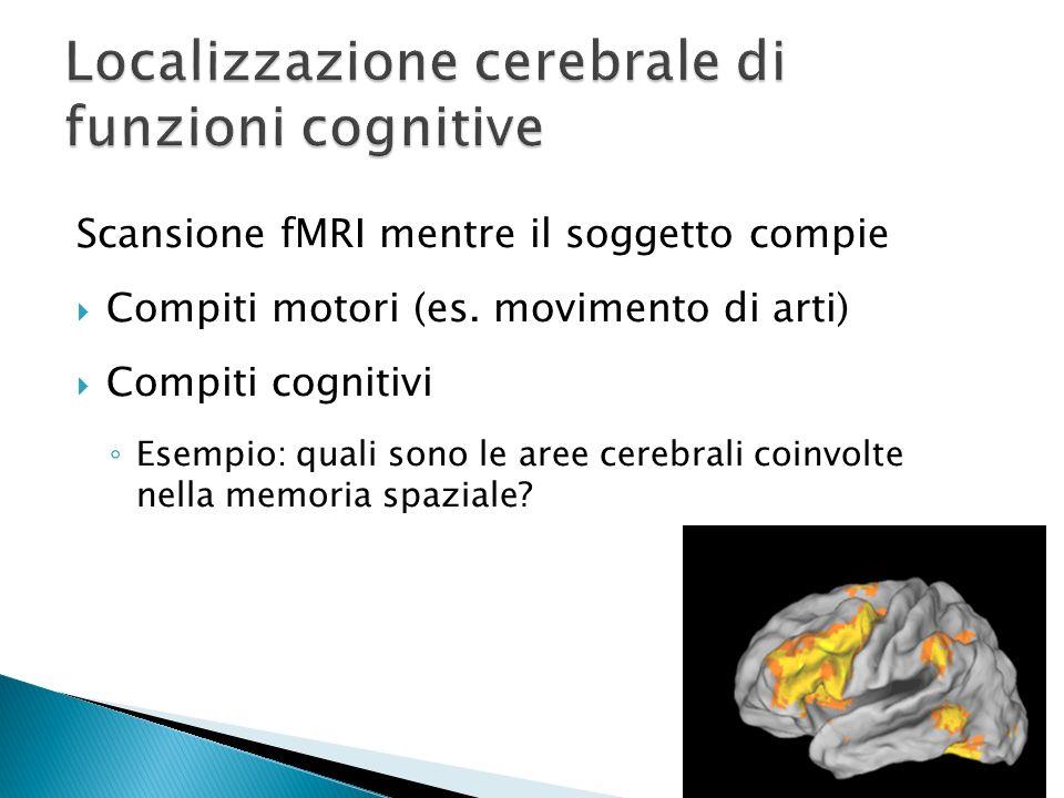 Localizzazione cerebrale di funzioni cognitive