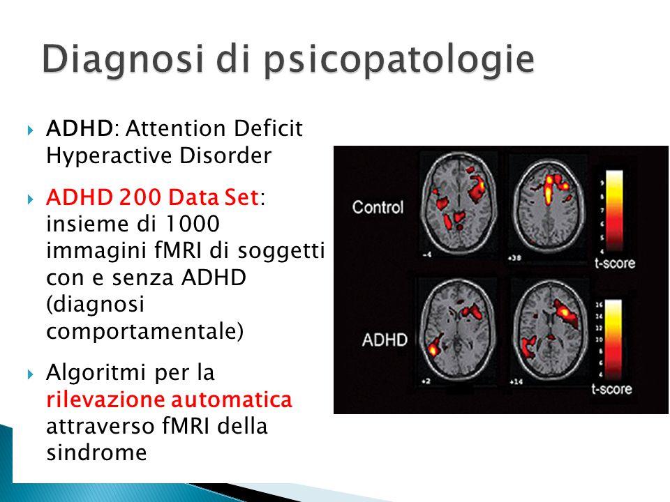 Diagnosi di psicopatologie