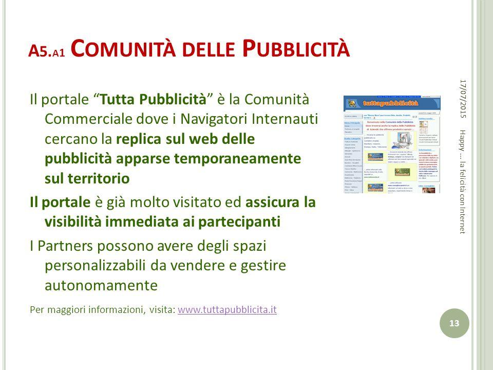 A5.a1 Comunità delle Pubblicità