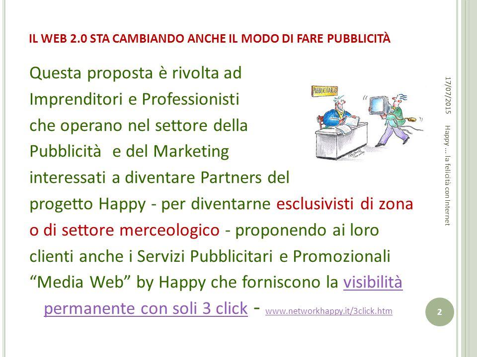 IL WEB 2.0 STA CAMBIANDO ANCHE IL MODO DI FARE PUBBLICITÀ