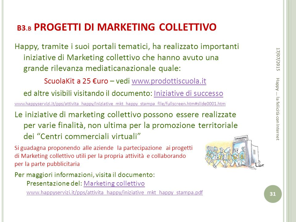 B3.B PROGETTI DI MARKETING COLLETTIVO