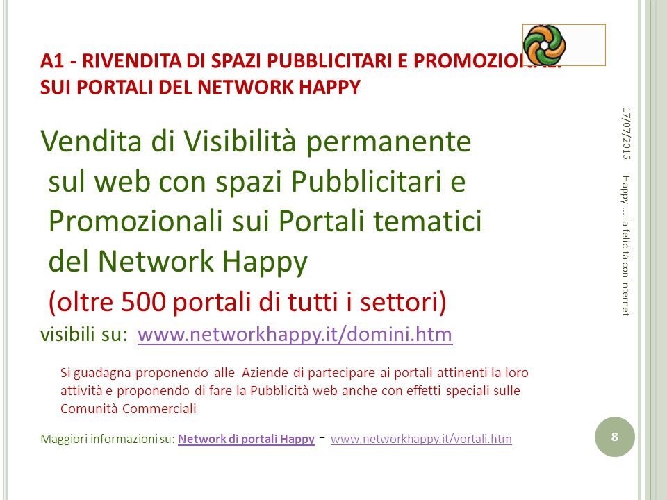 Happy ... la felicità con Internet