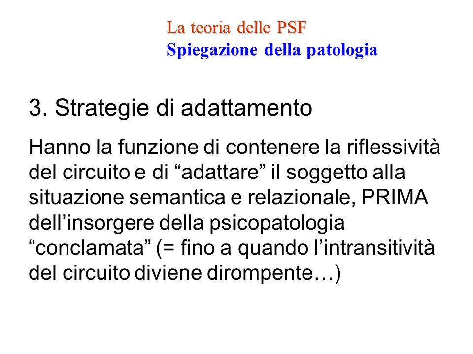 3. Strategie di adattamento