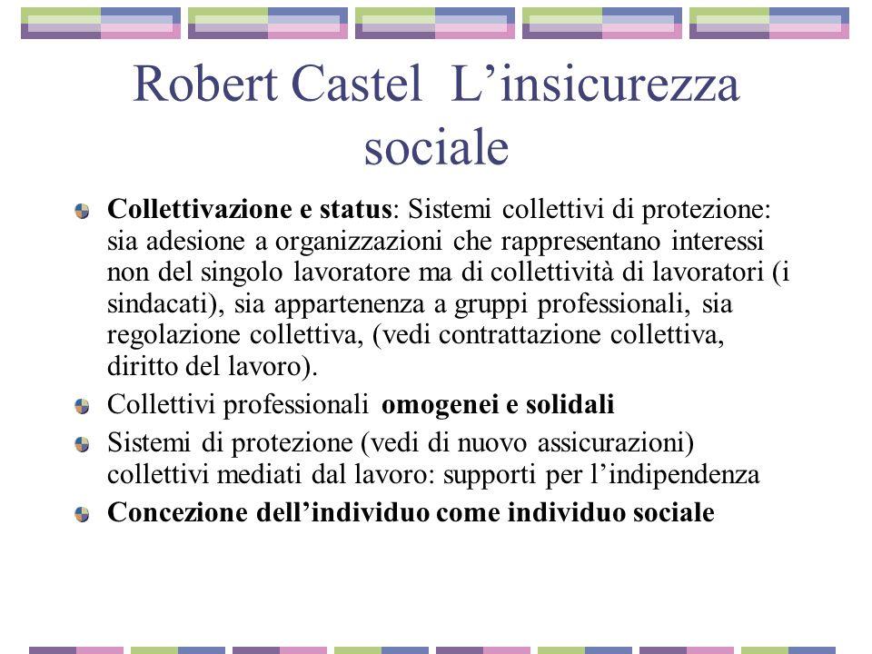 Robert Castel L'insicurezza sociale