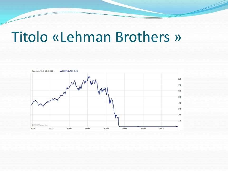 Titolo «Lehman Brothers »