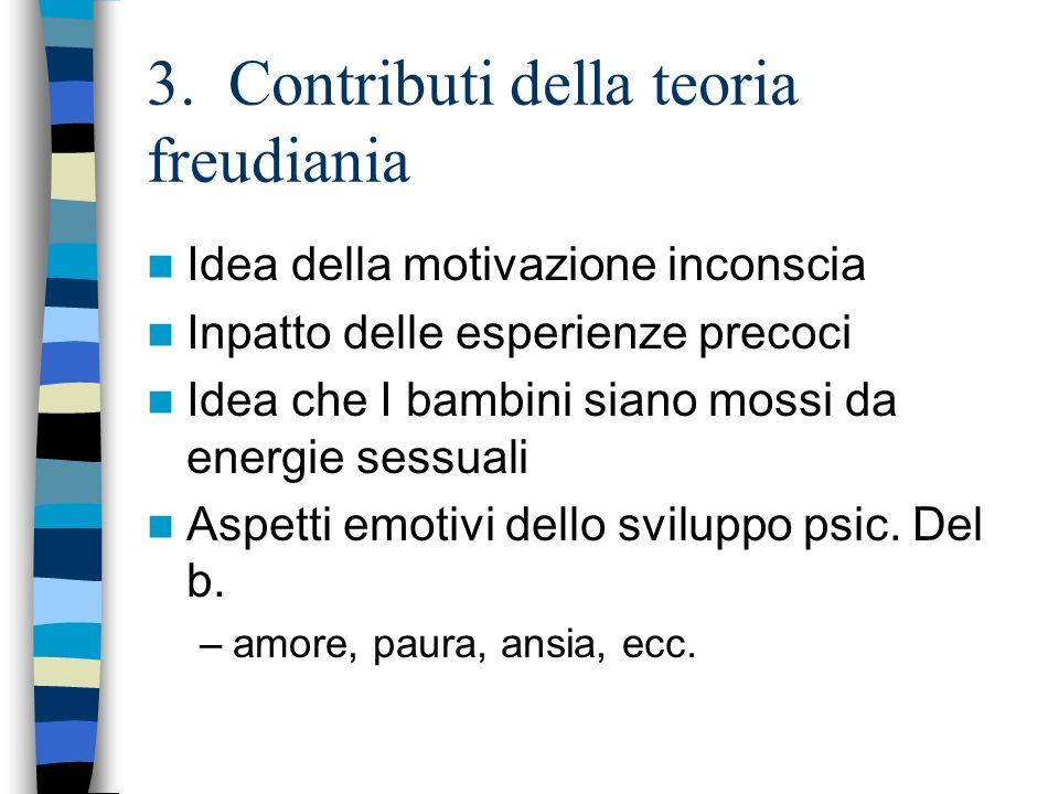 3. Contributi della teoria freudiania