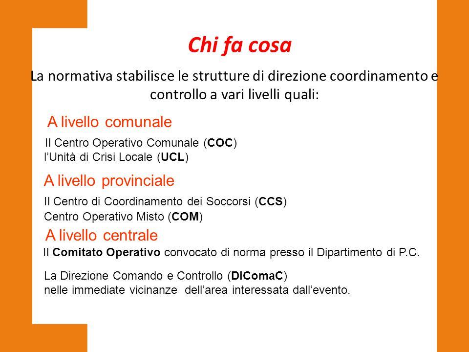 Il Centro Operativo Comunale (COC)