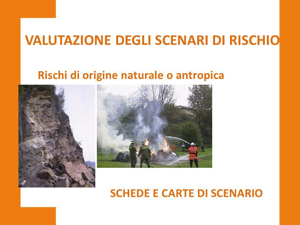 VALUTAZIONE DEGLI SCENARI DI RISCHIO