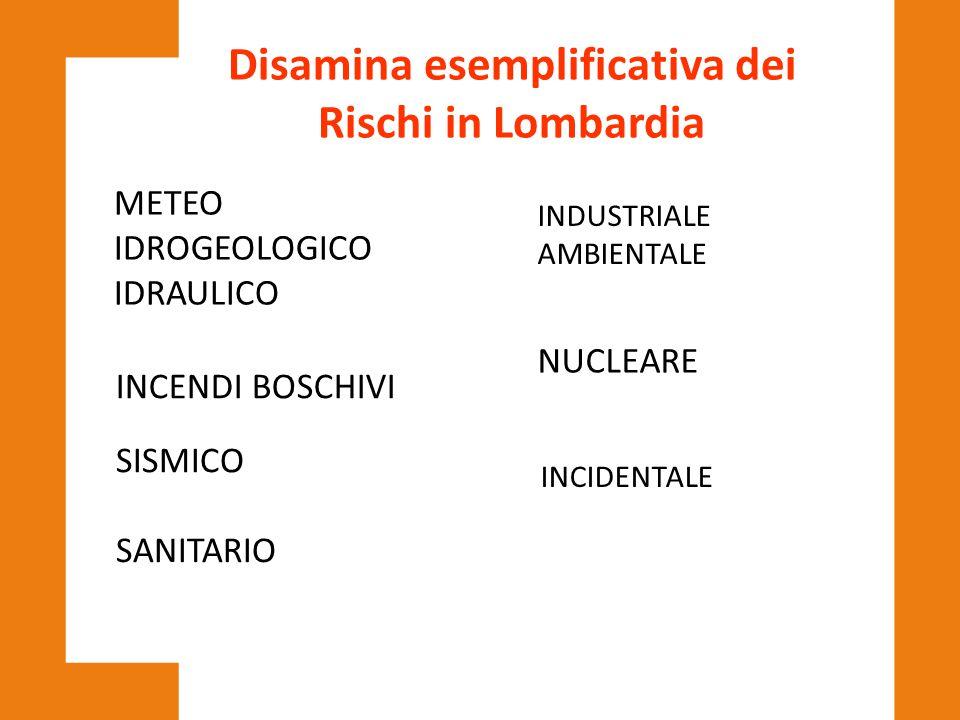 Disamina esemplificativa dei Rischi in Lombardia