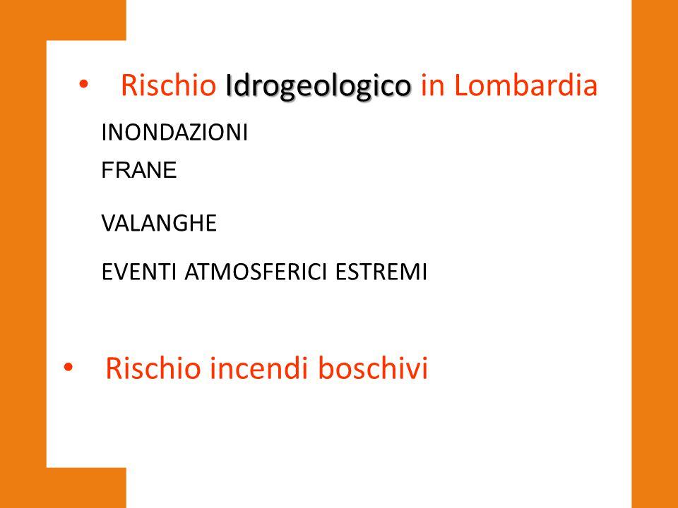 Rischio Idrogeologico in Lombardia