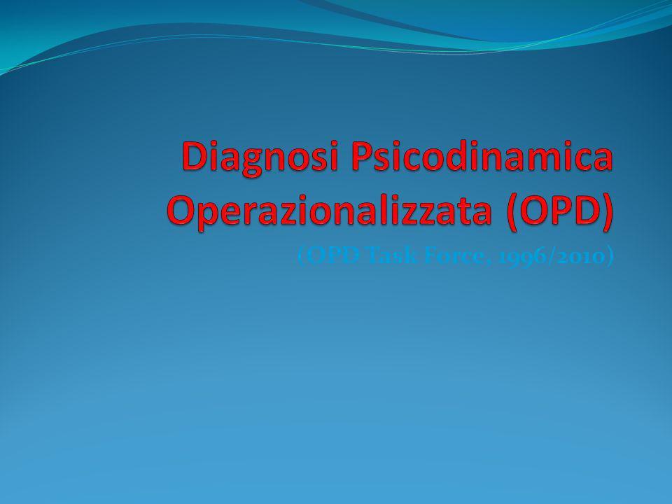 Diagnosi Psicodinamica Operazionalizzata (OPD)