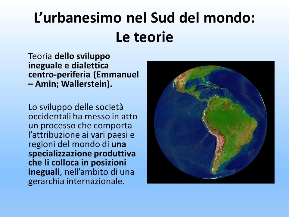 L'urbanesimo nel Sud del mondo: Le teorie