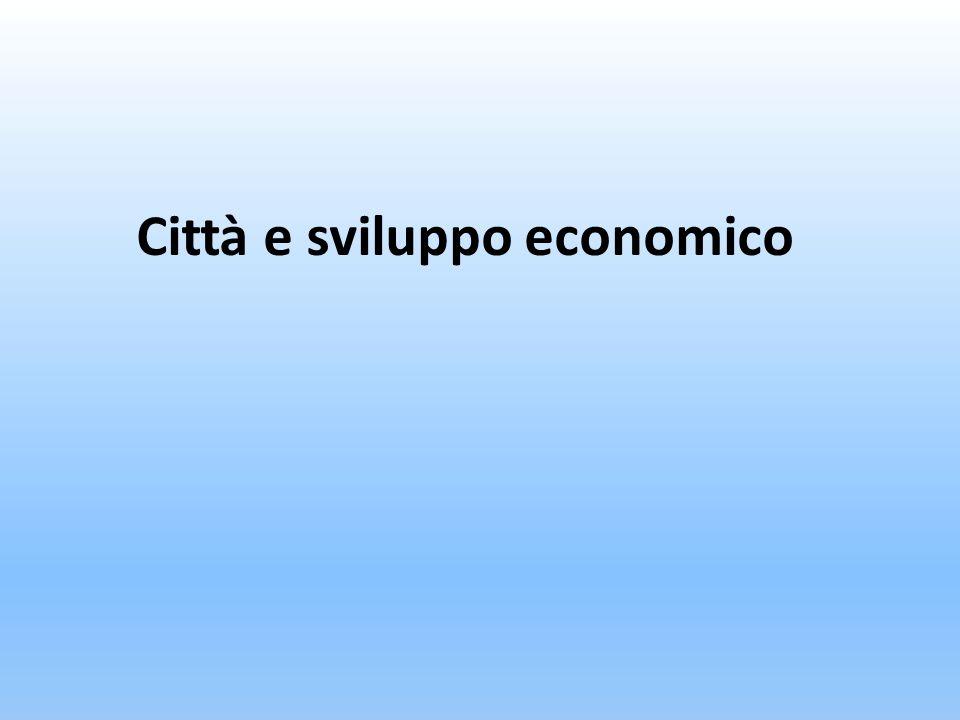 Città e sviluppo economico