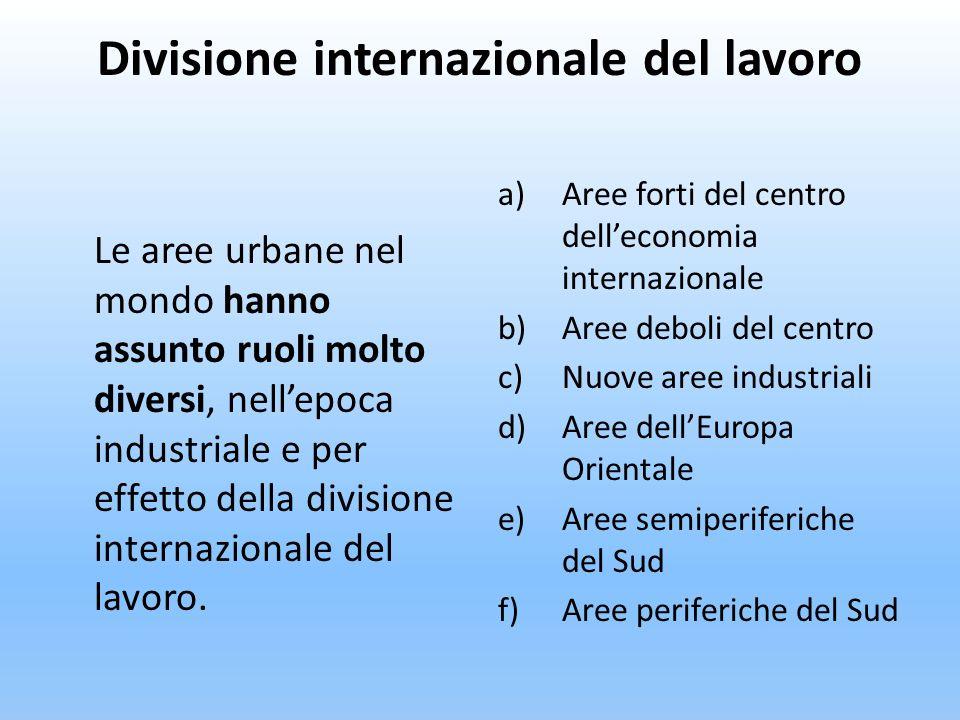 Divisione internazionale del lavoro