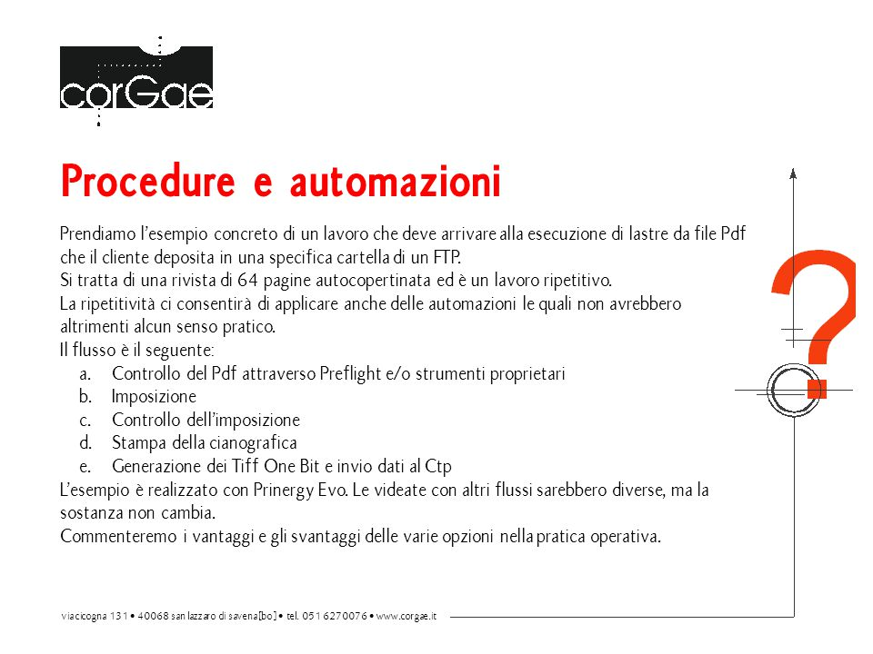 Procedure e automazioni