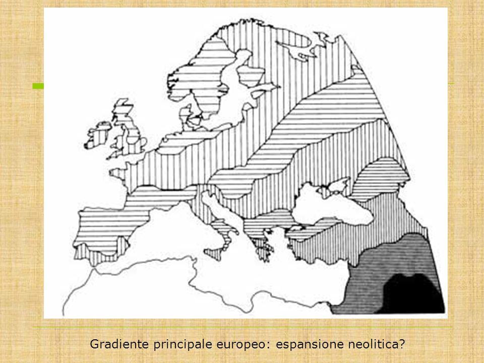 Gradiente principale europeo: espansione neolitica