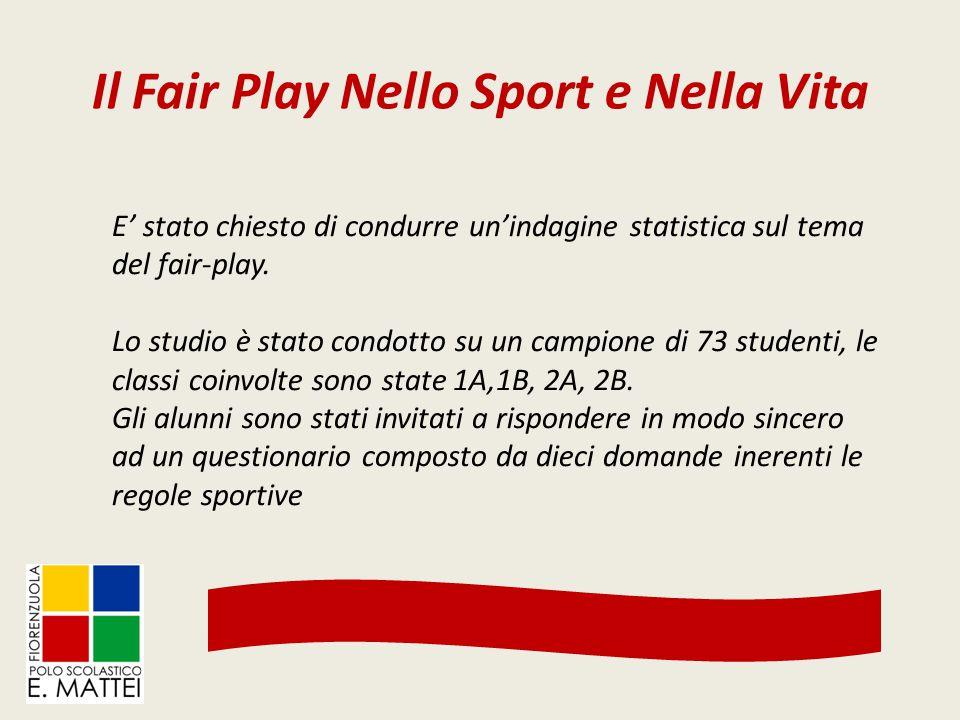 Il Fair Play Nello Sport e Nella Vita