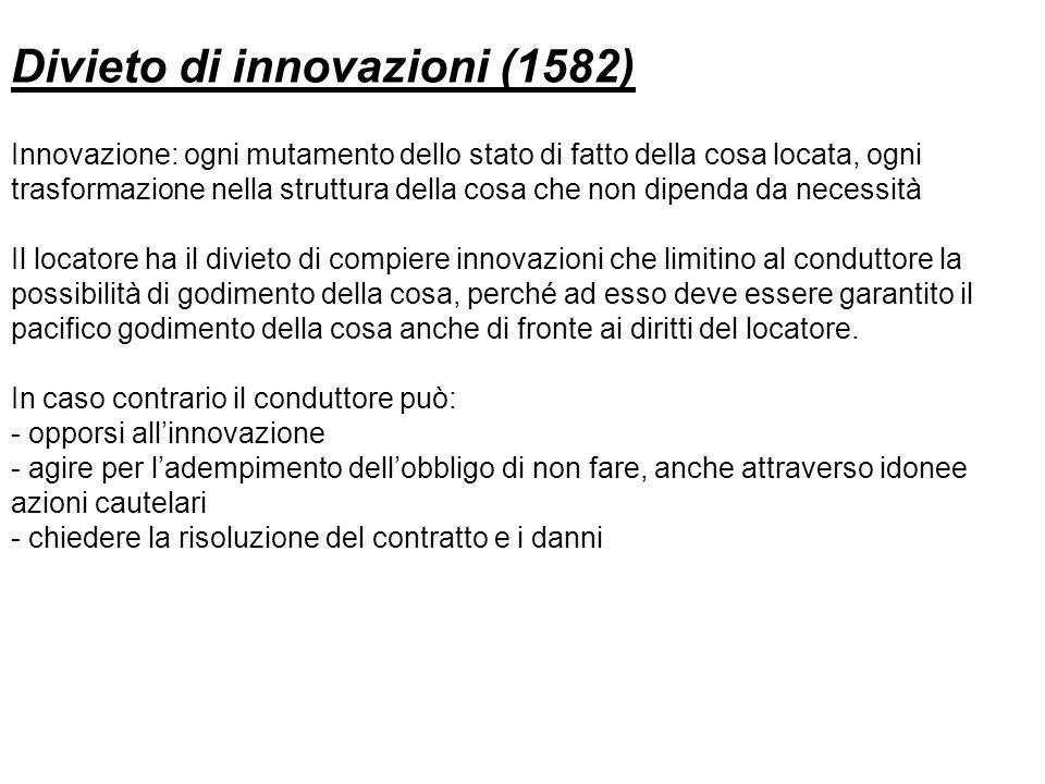 Divieto di innovazioni (1582)