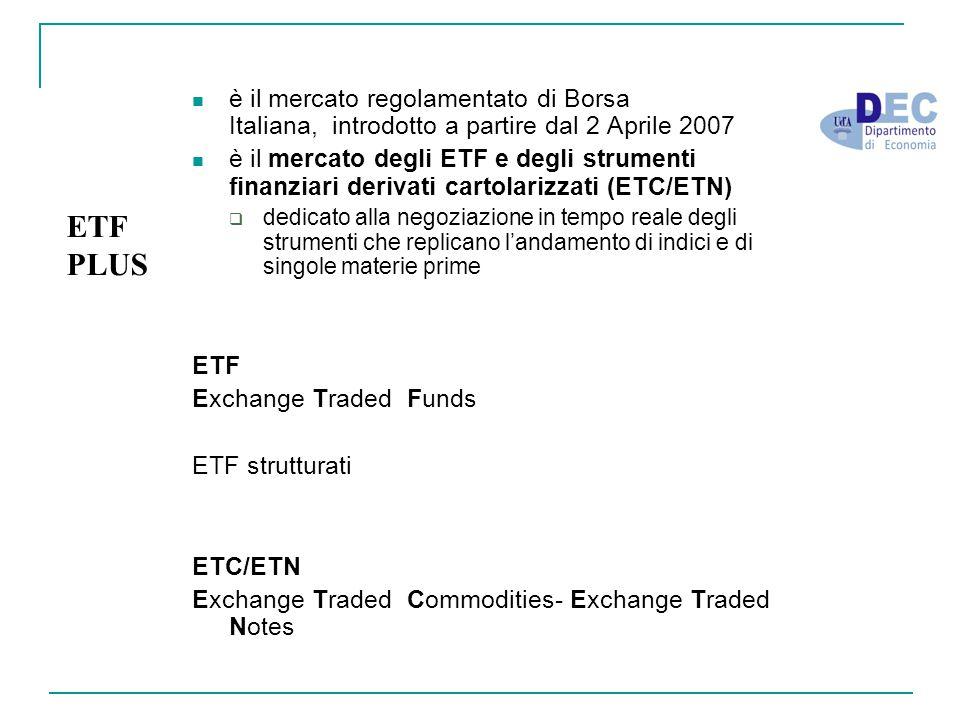è il mercato regolamentato di Borsa Italiana, introdotto a partire dal 2 Aprile 2007