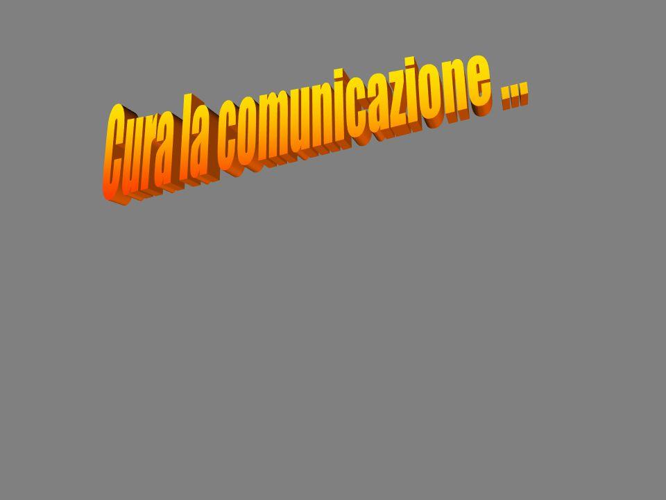 Cura la comunicazione …