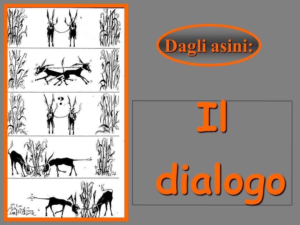 Dagli asini: Il dialogo