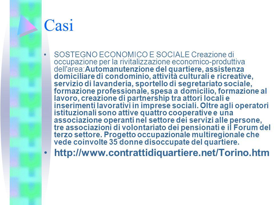Casi http://www.contrattidiquartiere.net/Torino.htm