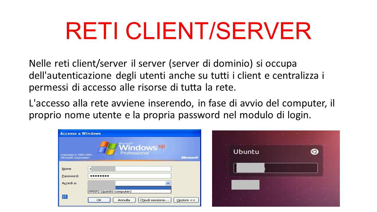 RETI CLIENT/SERVER