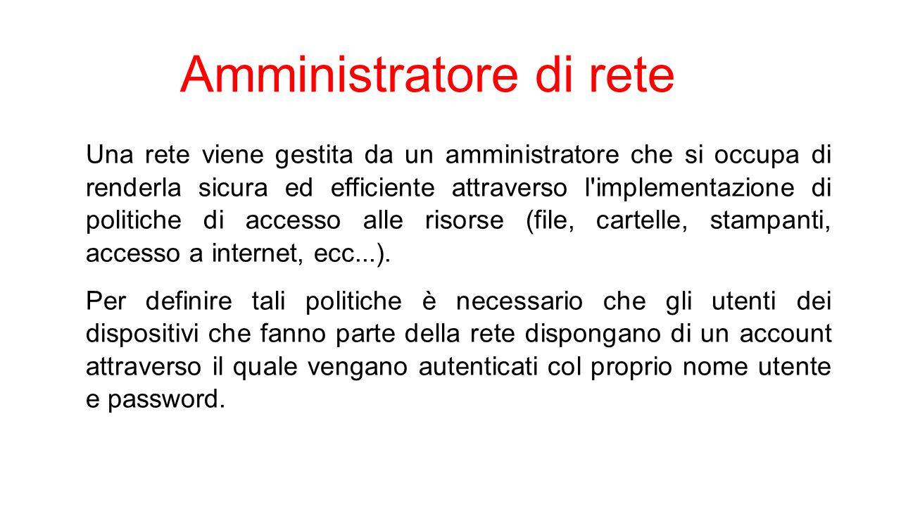 Amministratore di rete