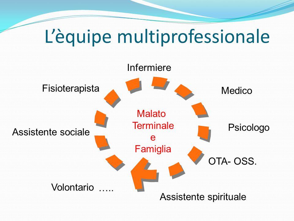 L'èquipe multiprofessionale