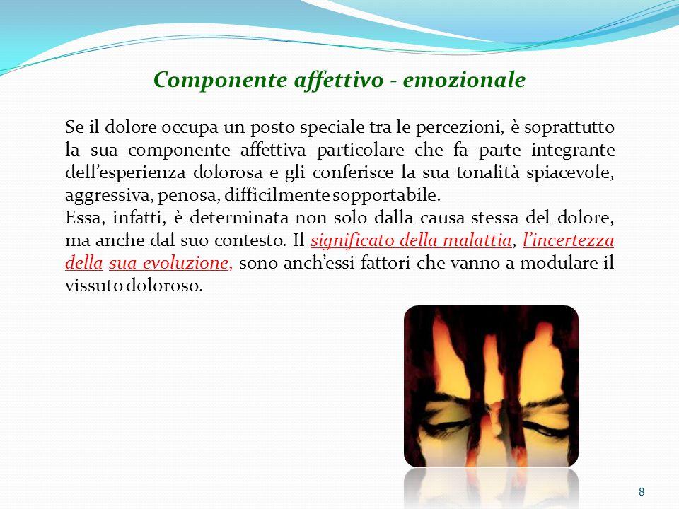 Componente affettivo - emozionale