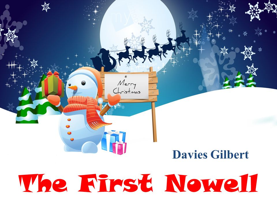 Davies Gilbert The First Nowell