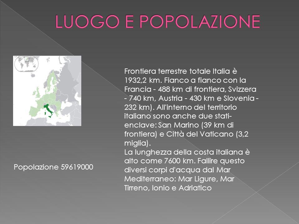 LUOGO E POPOLAZIONE