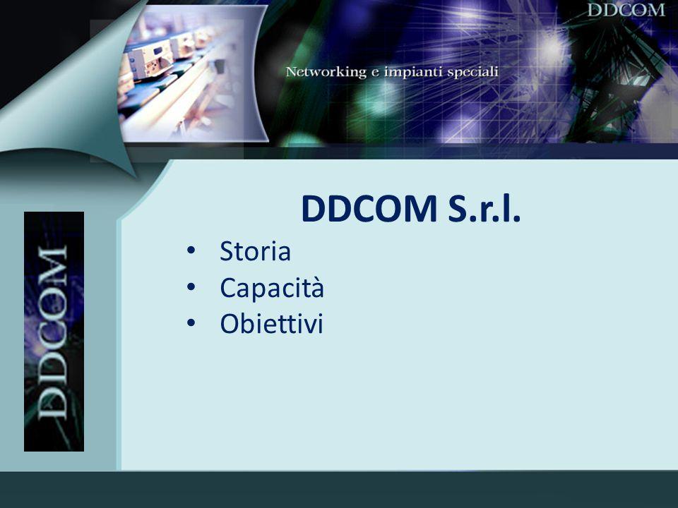 DDCOM S.r.l. Storia Capacità Obiettivi