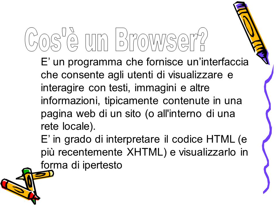 Cos è un Browser