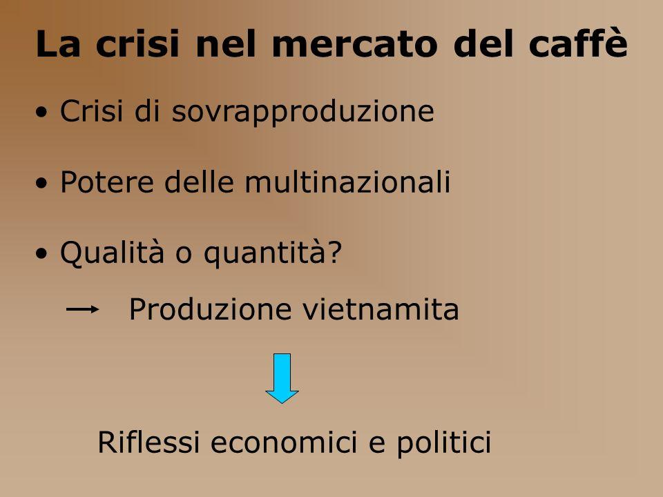 Riflessi economici e politici