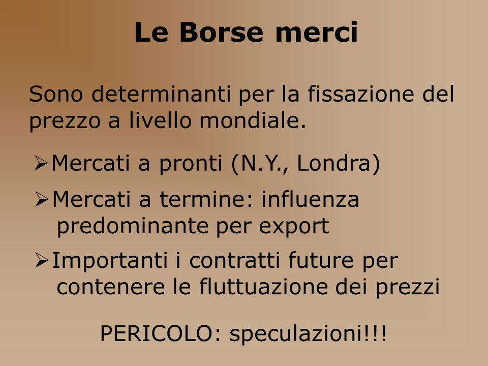 PERICOLO: speculazioni!!!