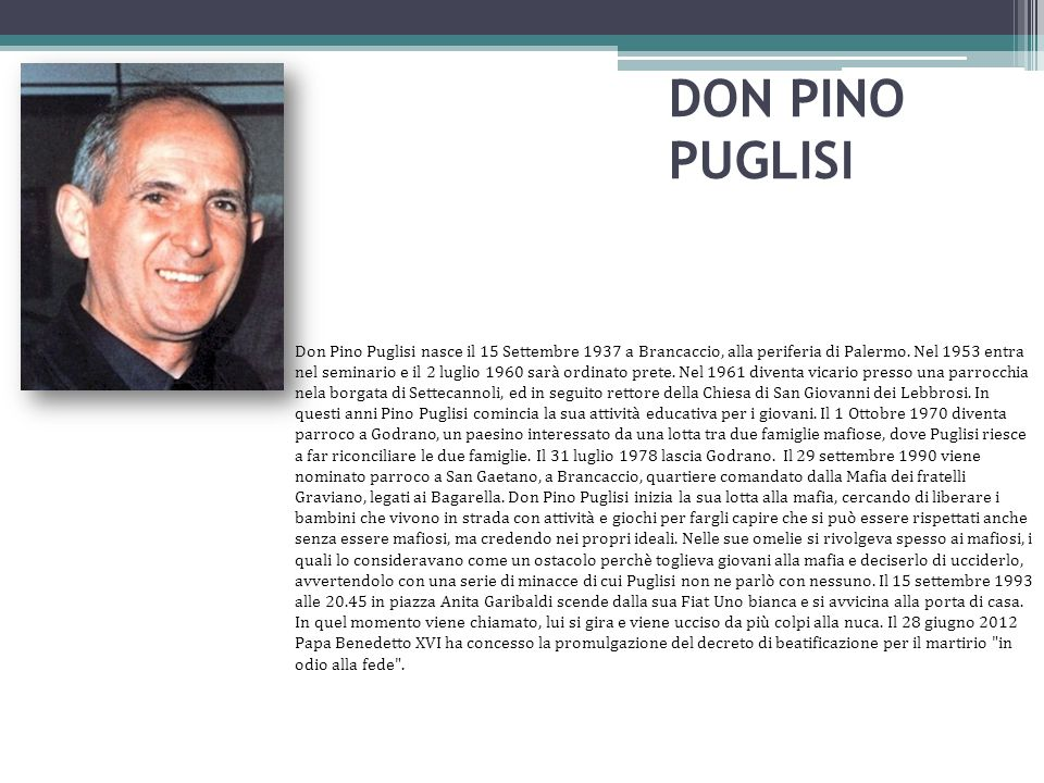 DON PINO PUGLISI