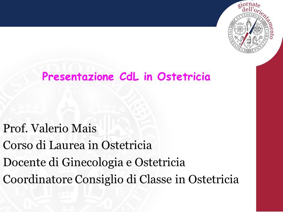 Presentazione CdL in Ostetricia