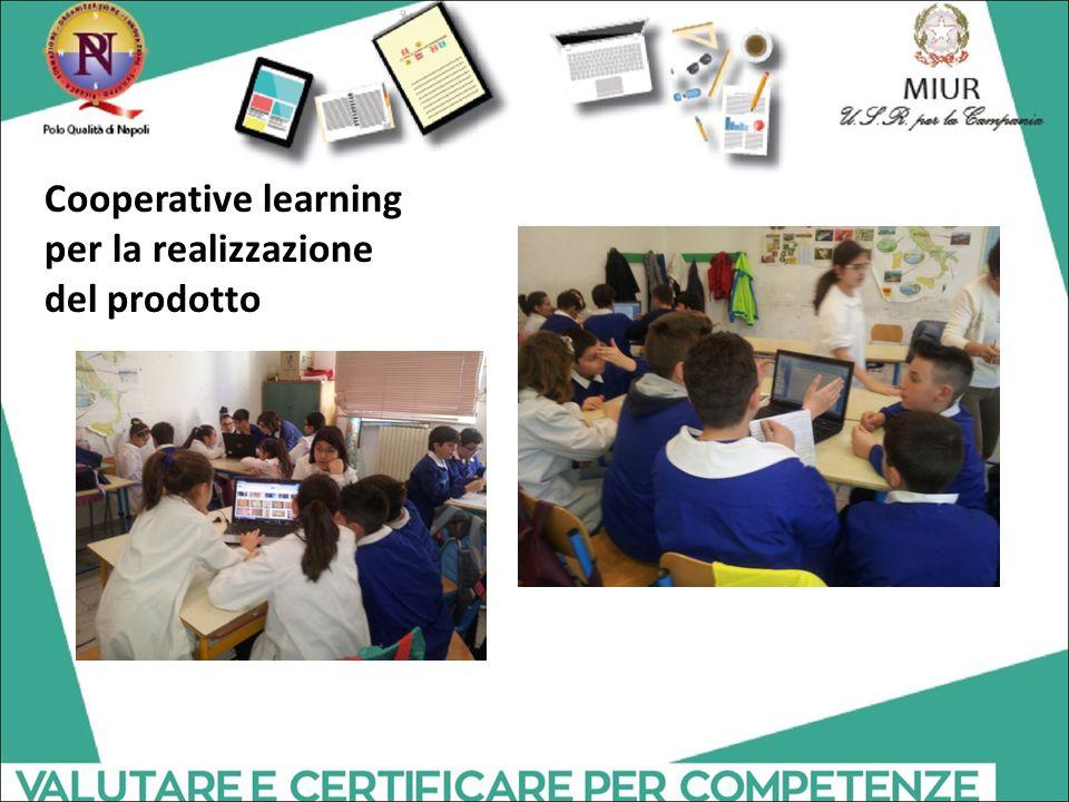 Cooperative learning per la realizzazione del prodotto